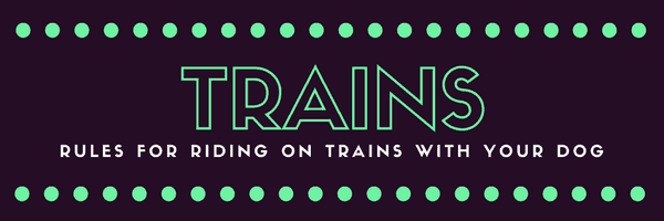 a title card saying trains