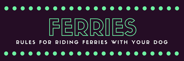 a title card saying ferries