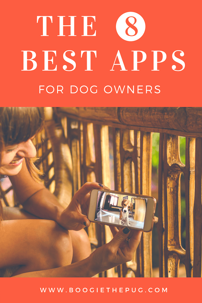 Since our pups don't have opposable thumbs, give them a hand and get them these helpful 8 apps.