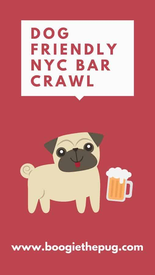 Bar crawls just got better because now, your pup can join! Grab some humans and their dogs and spend an afternoon hanging out at this dog friendly NYC bar crawl.