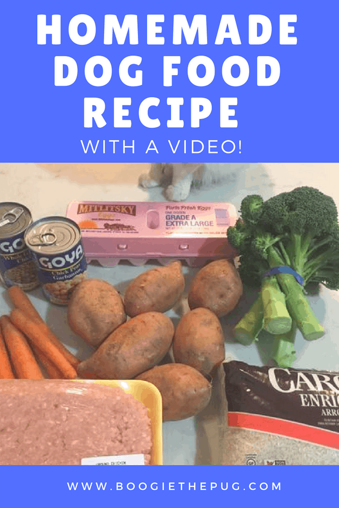 So many people have asked us how to make homemade dog food, and what our recipe is. We're sharing a video of the process, complete with ingredients and instructions. Check it out!