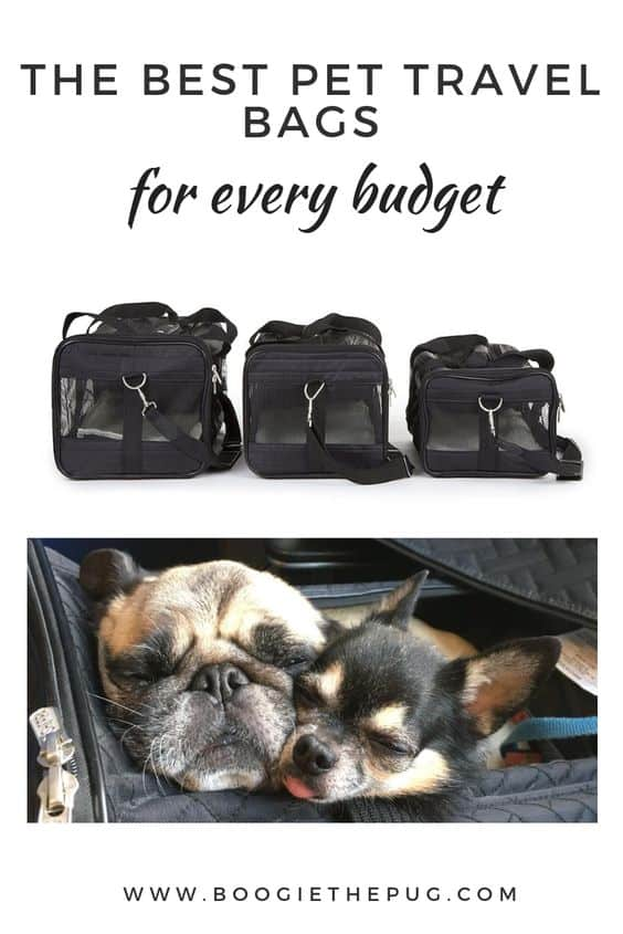 Having a good pet carrier is essential if you're planning to be on the go with your pup. Here are three trustworthy pet travel bags that will fit any budget.