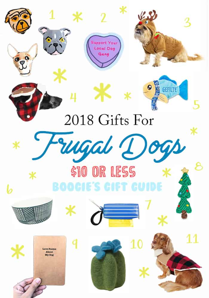 Gifts for the Frugal Pup - $10 or Less!