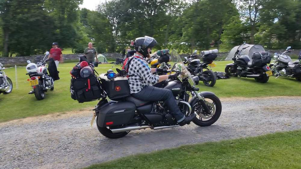 Motorcycle trips with multiple dogs are possible! Preston explains how he prepared his two dogs for them, and how they've found life on the road.