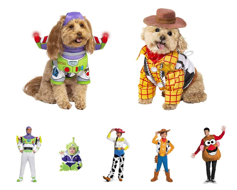 We've rounded up the best family costume ideas, and all of them include the furriest member of the pack - your dog! Check out these group Halloween costumes.