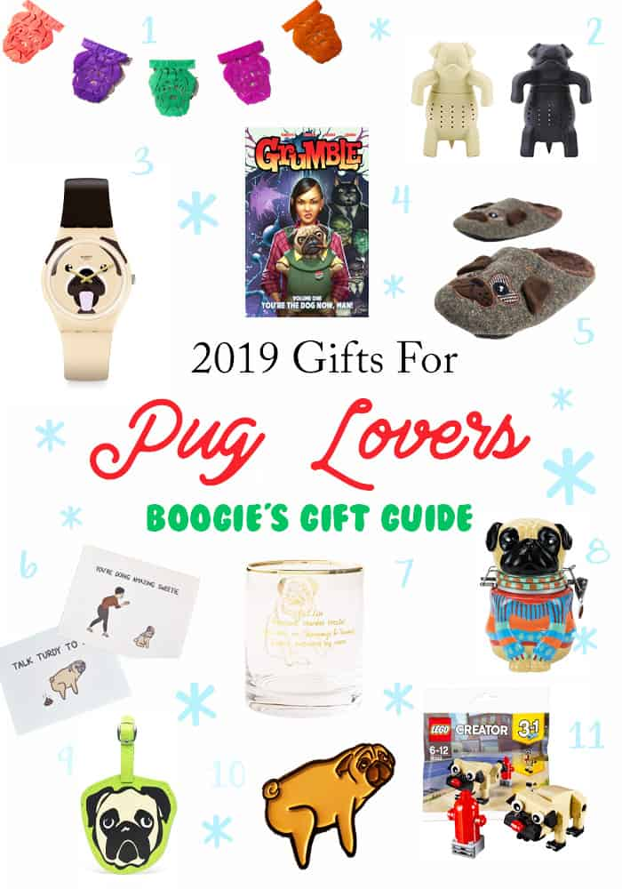 Get the pug obsessed people in your life the perfect pug stuff this holiday season. These are the best gifts for pug lovers.